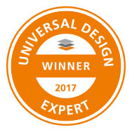 [Translate to nl_nl:] Kermi LINE XXL-Zuschnittboards Gewinner des Universal Design Awards 2017 Expert