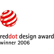 reddot design award winner 2006