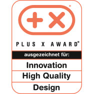 Plus X Award - High Quality - Design - Funktionalität